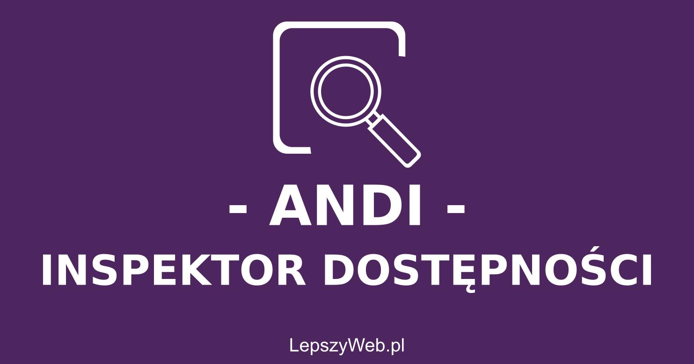 zdjęcie lub grafika do zasobu: ANDI - Narzędzie testowania dostępności - Instalacja